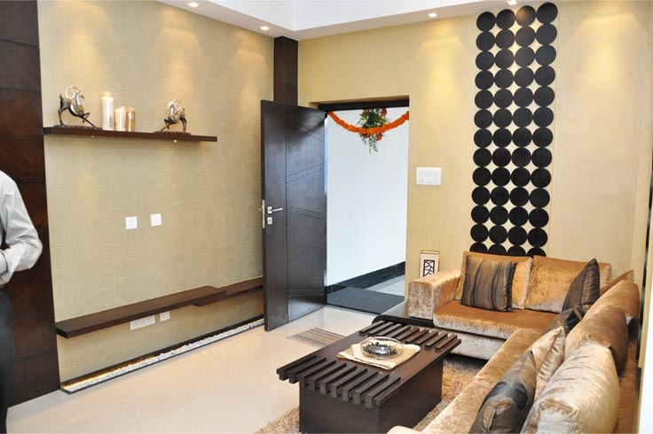 2 bhk multistorey apartment flat for sale in hitech city for 1 bhk flat interior decoration image