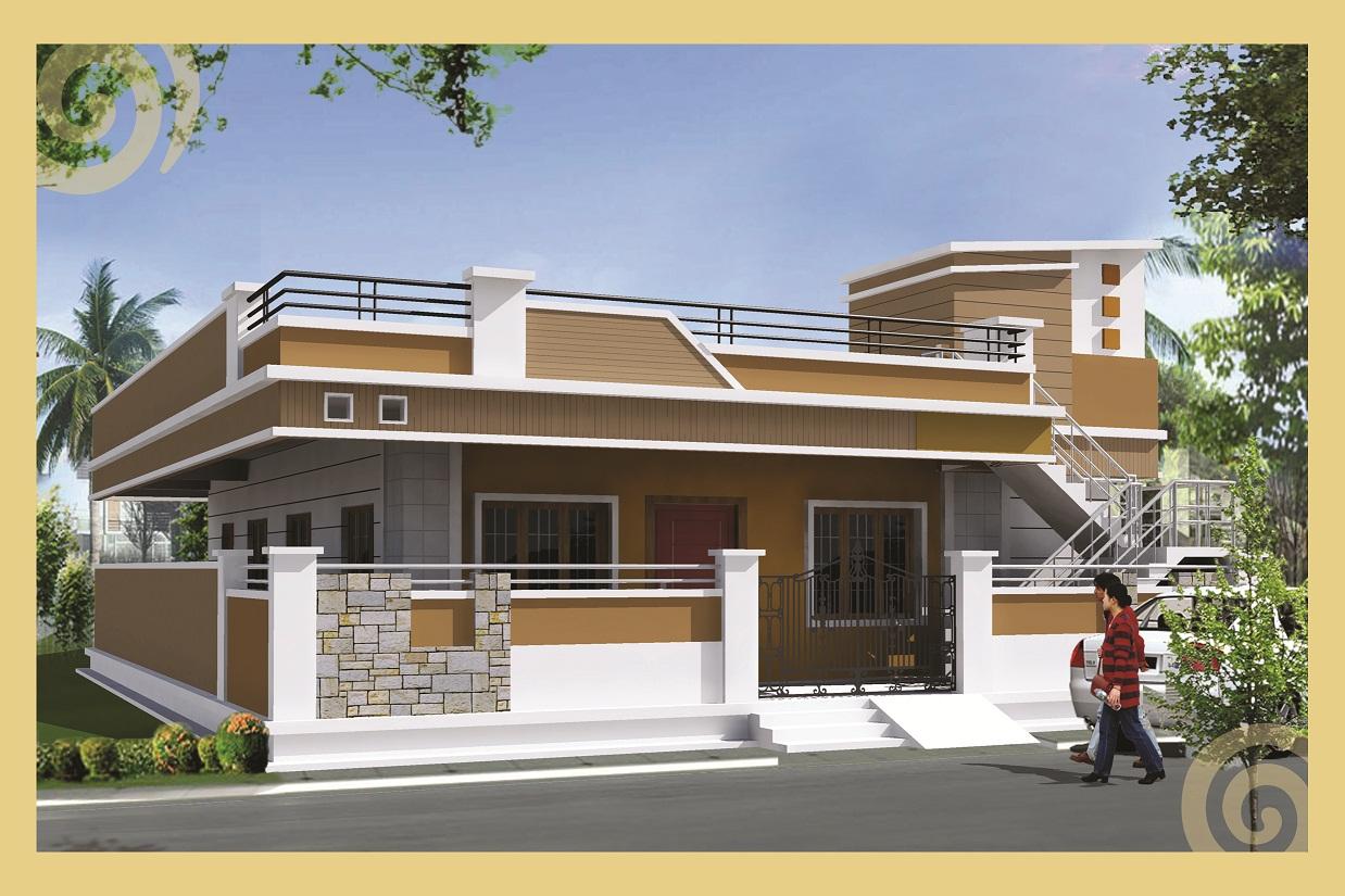 BHK Residential House for sale in DHANALAKSHMIPURAM Nellore - 720 Sq ...