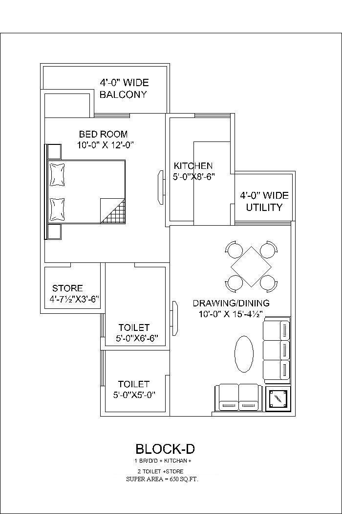 650 sq ft house plans in kerala escortsea for Apartment plans in kerala
