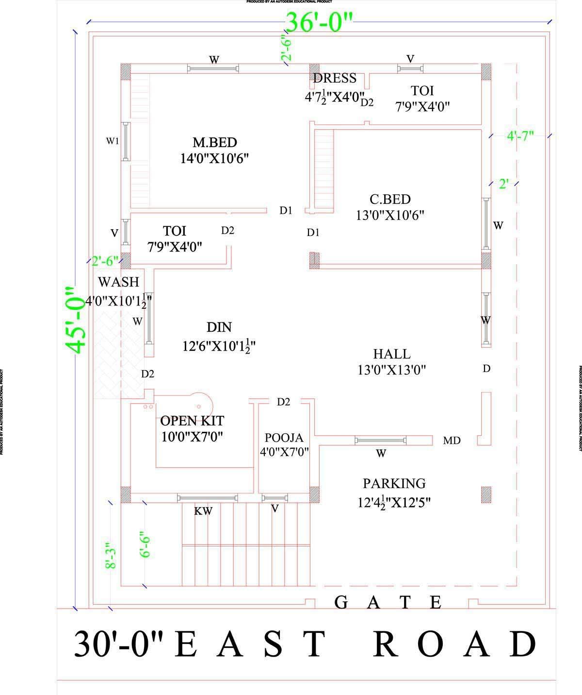 Amusing 200 Sq Yard House Plans India Gallery Image design house – 200 Sq Ft House Plans India
