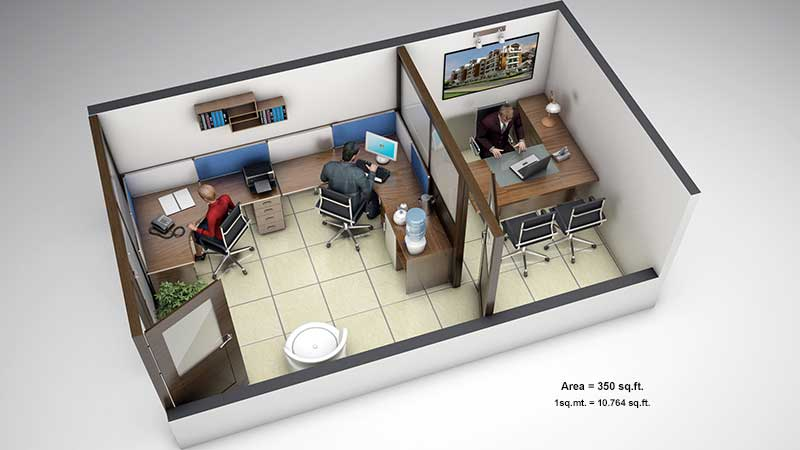500 Sqft Office Design Floor Plans Sq Ft 352 3