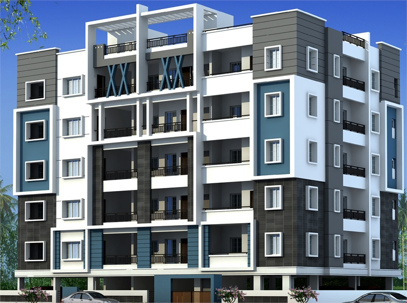 3 bhk multistorey apartment flat for sale in manikonda Multi residential for sale