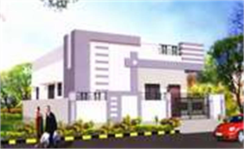 2 bhk residential house for sale in apoorva homes kurnool for Guntha to sq ft