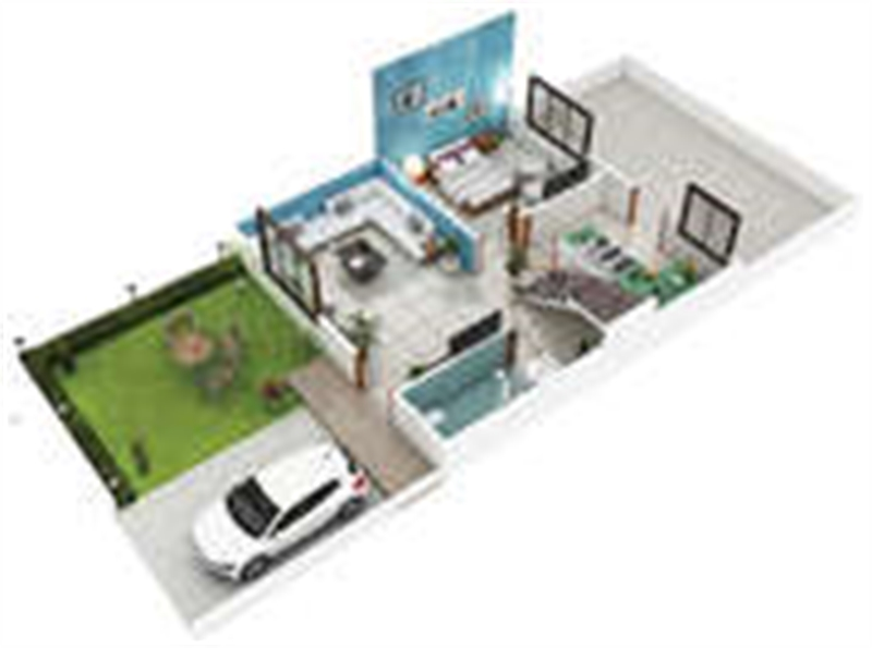 3 bhk residential house for sale in amaltas ambrosia for Guntha to sq ft