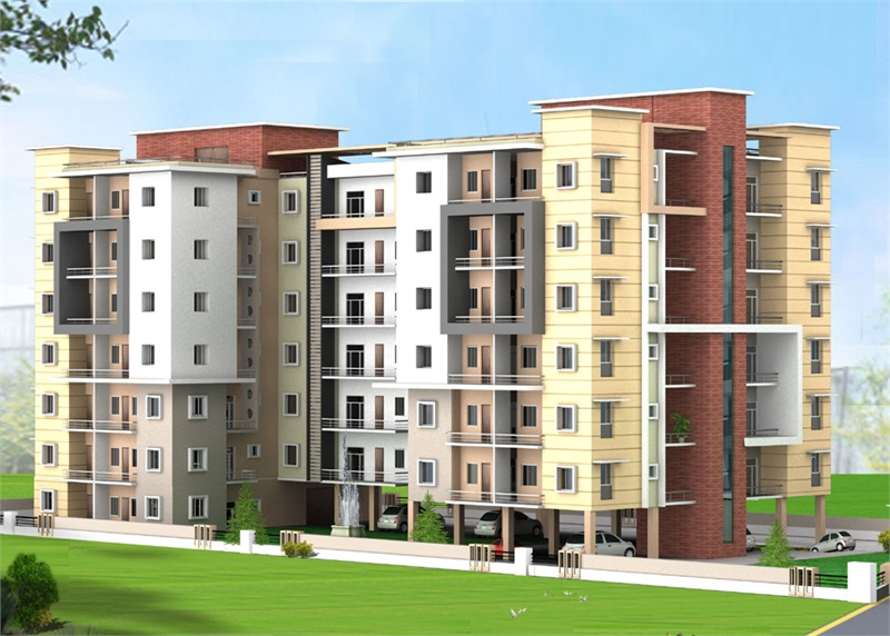 3 bhk multistorey apartment flat for sale in prayas for Multi residential for sale