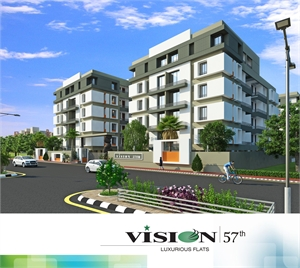 3 bhk multistorey apartment flat for sale in lunsikui for Multi residential for sale