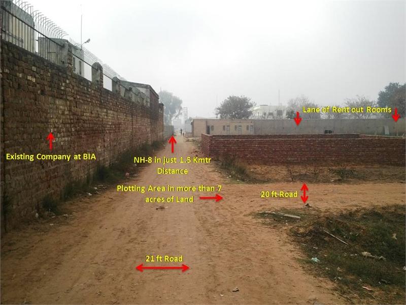 Residential Plot / Land for sale in 2acreland Manesar Gurgaon - 100