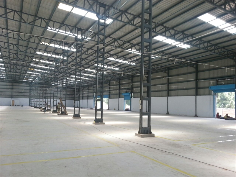 Warehouse godown for rent in dhulagori howrah 40200 sq for Guntha to sq ft