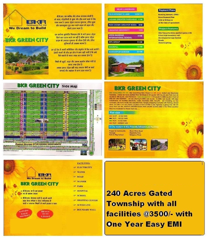 Residential Plot / Land for sale in Eco Green City