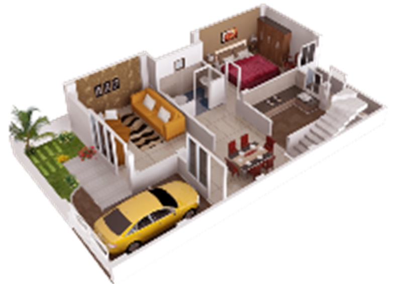 3 BHK Residential House for sale in Aftek Homes Faizabad Road