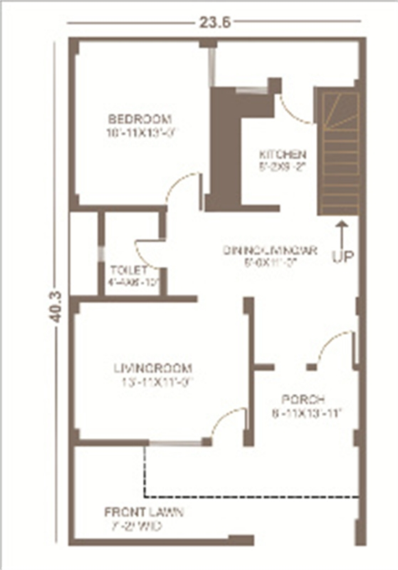 3 bhk residential house for sale in aftek homes faizabad for Guntha to sq ft