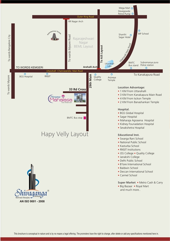 3 BHK Builder Floor Apartment for sale in Shivaganga