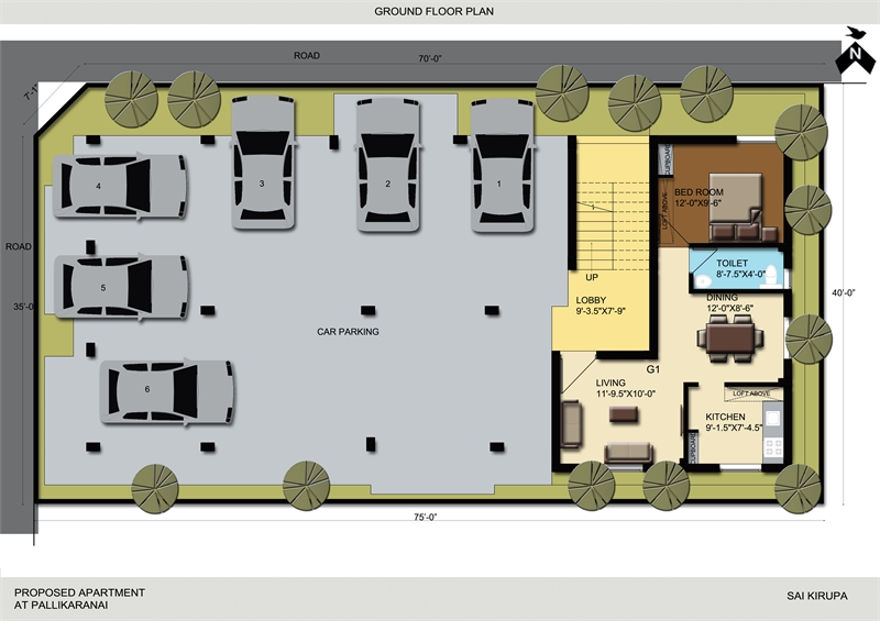 2 bhk builder floor apartment for sale in pallikaranai for Guntha to sq ft