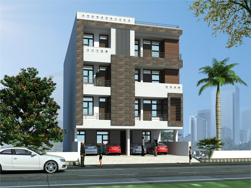 3 Bhk Builder Floor Apartment For In Murlipura