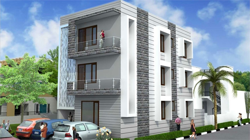 3 Bhk Builder Floor Apartment For In Sector 86