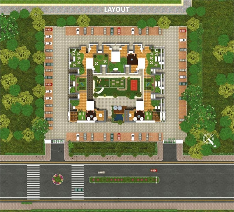 2 bhk multistorey apartment flat for sale in vrindavan Multi residential for sale