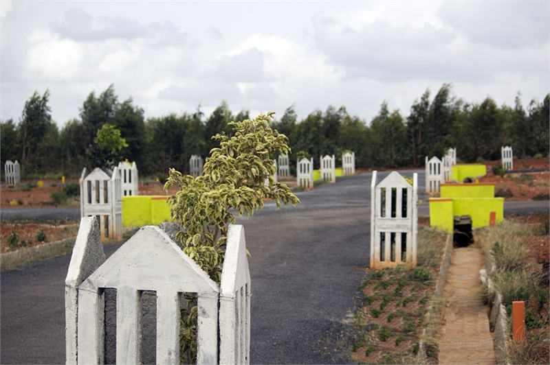 Residential plot land for sale in devanahalli bangalore for Guntha to sq ft
