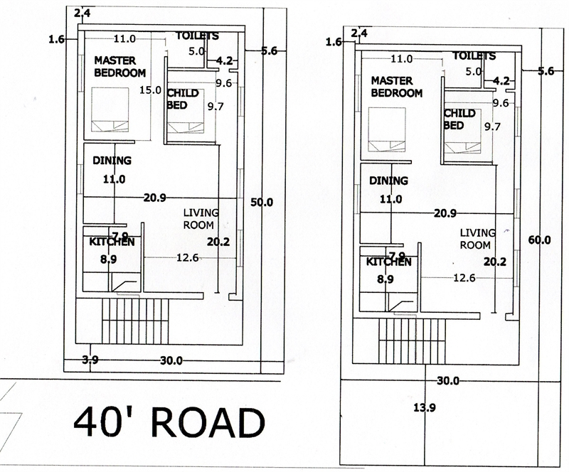 2 bhk residential house for sale in jammu narayanapuram for 2bh house plans