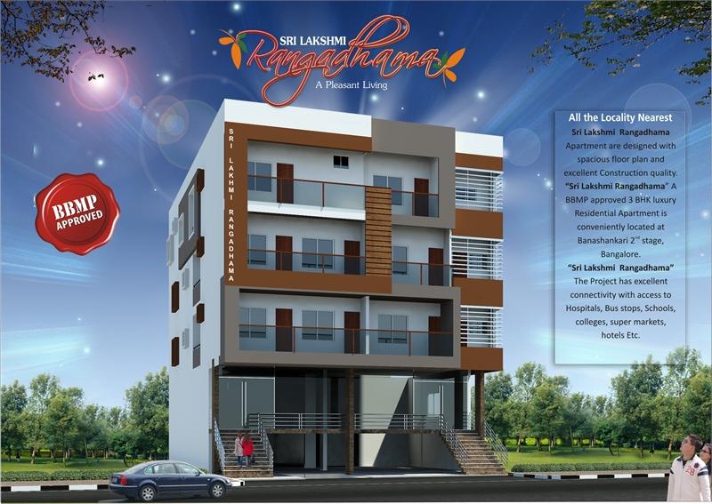 3 BHK, Builder Floor Apartment For Sale In Banashankari Stage 2
