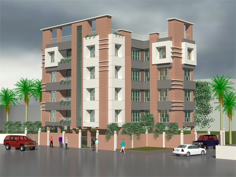 3 bhk multistorey apartment flat for sale in standalone Multi residential for sale