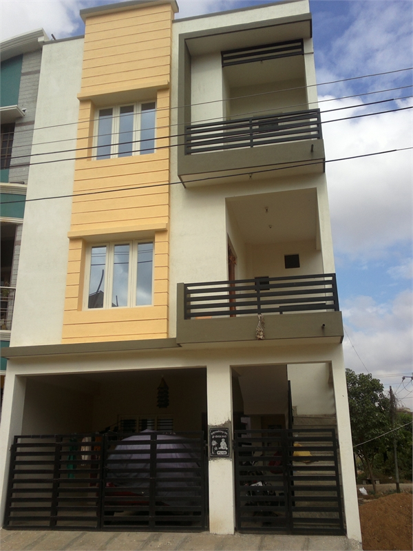 3 bhk residential house for sale in srinidhi builders for Guntha to sq ft