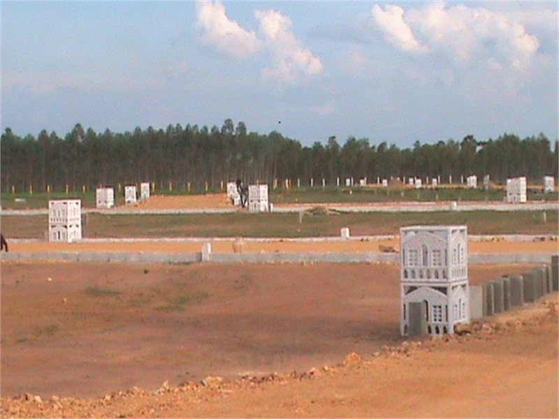 Commercial land for sale in thendral nagar sengipatti for Guntha to sq ft