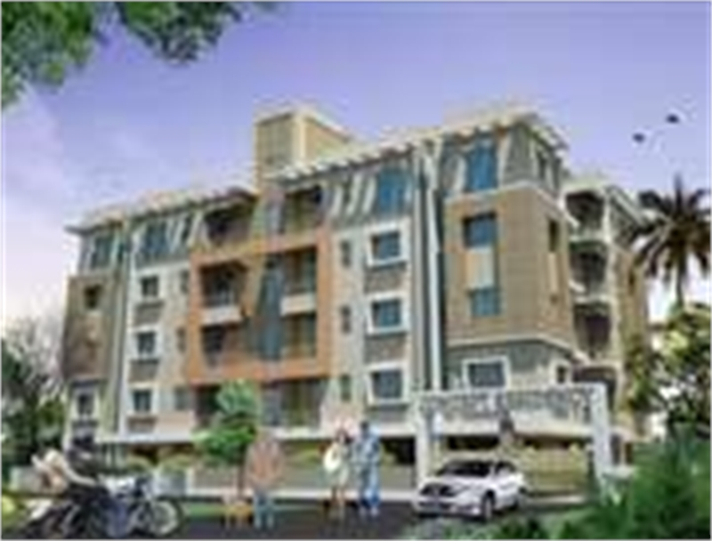 1 bhk multistorey apartment flat for sale in bolpur Multi residential for sale