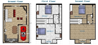 3 BHK, Residential House For Sale in Hormavu, Bangalore