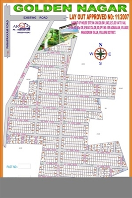Residential Plot / Land For Sale in Panpakkam, Chennai