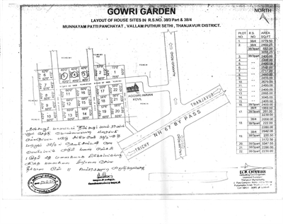 Commercial Land For Sale in Vallampudur, Thanjavur