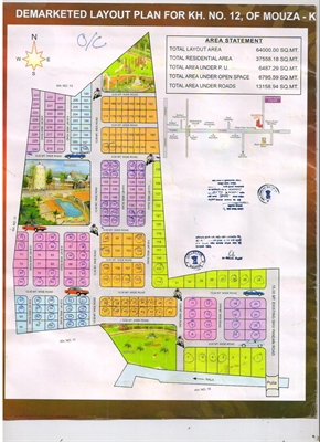 Residential Plot / Land For Sale in Butibori, Nagpur-Maharashtra