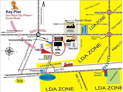 Residential Plot / Land For Sale in Kursi Road, Lucknow