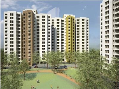 2 BHK, Multistorey Apartment / Flat For Sale in Uniwold City, Kolkata