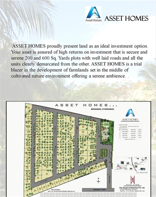Residential Plot / Land For Sale in Moinabad, Hyderabad