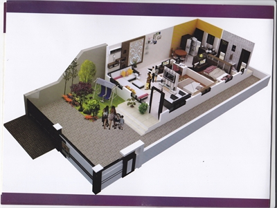 2 BHK, Residential House For Sale in Waddhamna, Nagpur-Maharashtra