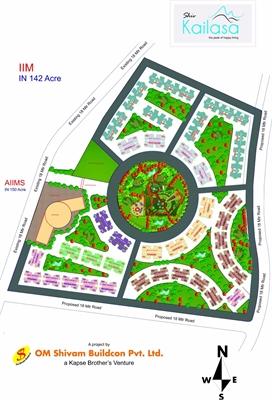 2 BHK, Multistorey Apartment / Flat For Sale in Wardha Road, Nagpur-Maharashtra