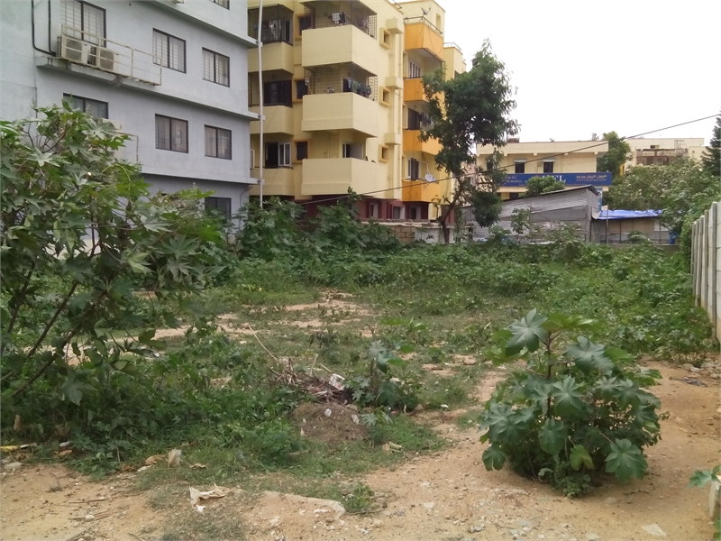 commercial land for rent in hrbr layout bangalore