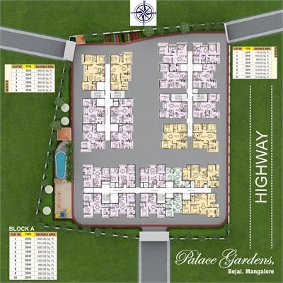 3 BHK, Multistorey Apartment / Flat For Sale in Bejai, Mangalore