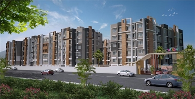 3 BHK, Multistorey Apartment / Flat For Sale in Shivmandhir, Siliguri