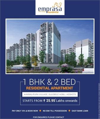 1 BHK, Builder Floor Apartment For Sale in Hoskote, Bangalore
