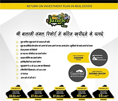 2 BHK, Holiday Home For Sale in Khandwa Road, Indore