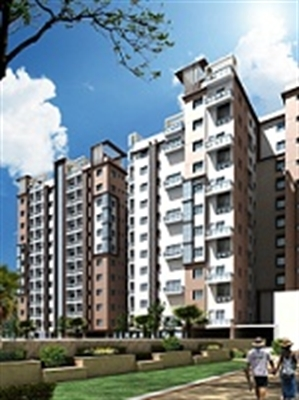 3 BHK, Multistorey Apartment / Flat For Sale in E M Bypass Extension, Kolkata